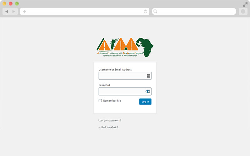 ASAAP Project - Admin