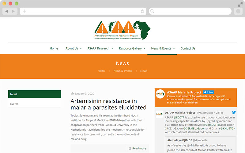 ASAAP Project - News