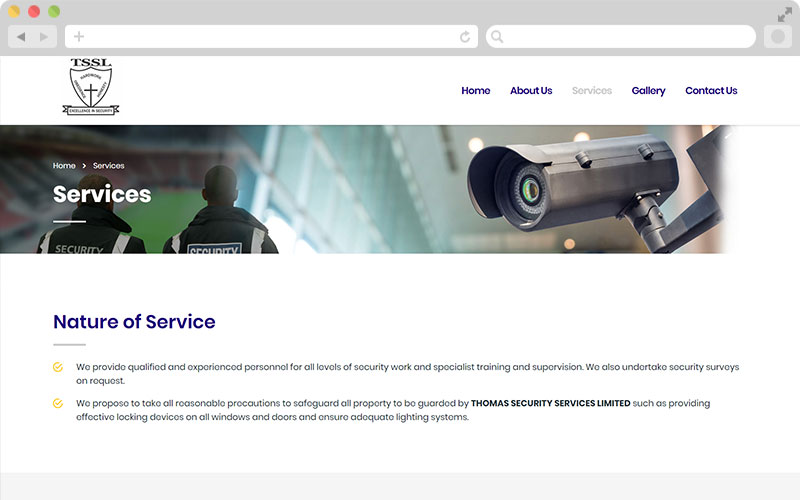 tssl - services page